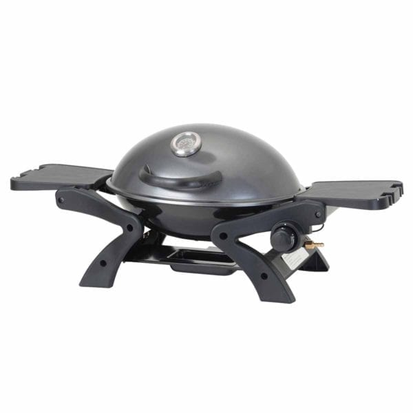 BBQ Portable Gas Barbecue Grey lid