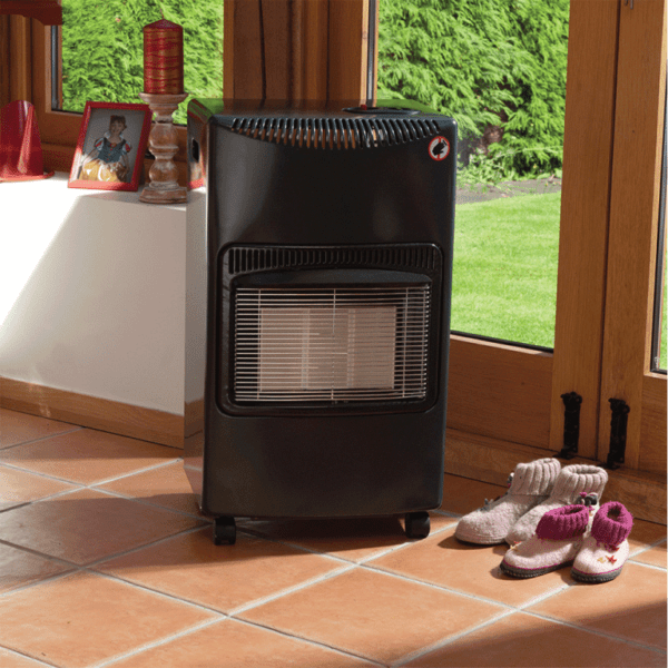 Grey Seasons Warmth Cabinet Heater in situ