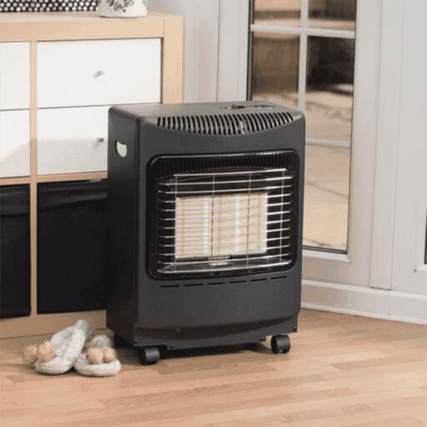 Mini Heatforce Cabinet Heater in situ