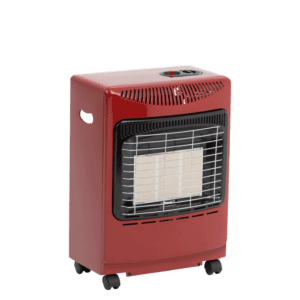Red Mini Heatforce Cabinet Heater