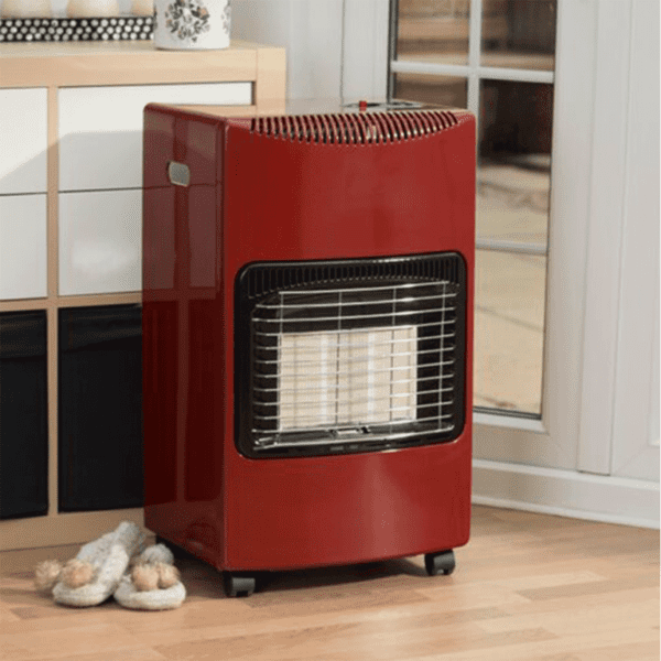 Red Seasons Warmth Cabinet Heater in situ