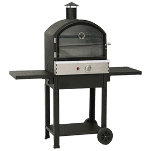 Taranto Basic Model Black Garden Pizza Oven