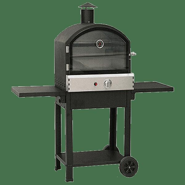 Taranto Basic Model Black Garden Pizza Oven