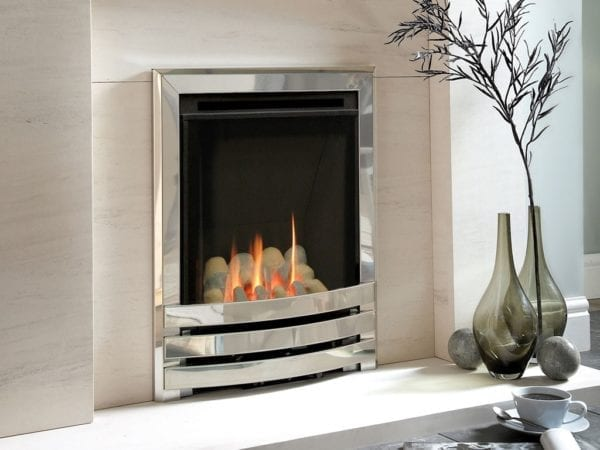 Windsor HE Contemporary Pebble Coal